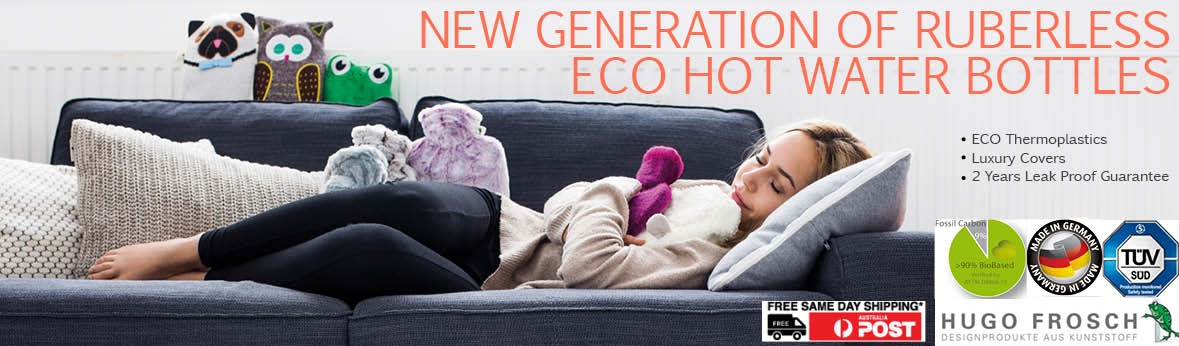 Eco Hot Water Bottles With Cover