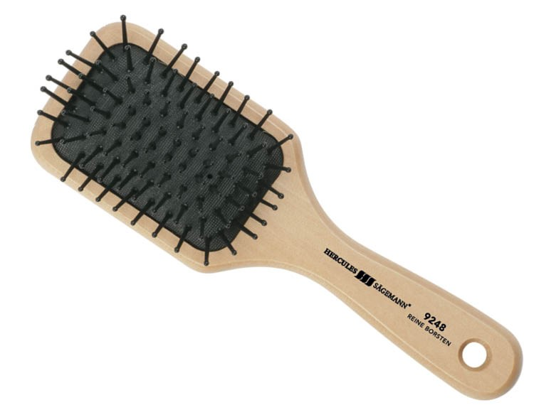 Hercules Sagemann Detangling Paddle Hair Brush Small 9248