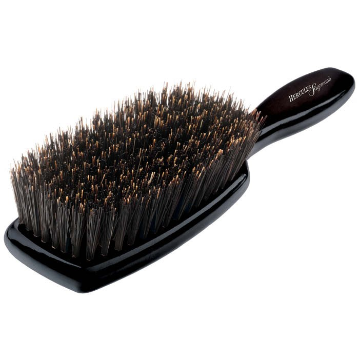 Hercules Sagemann Pure Bristles Hair Brush L Black Wood