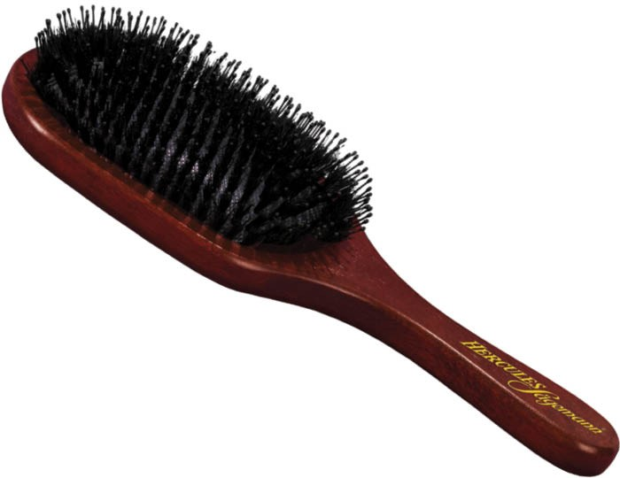 Hercules Sagemann Boar Bristle & Pins Extra Large Hair Brush Wood