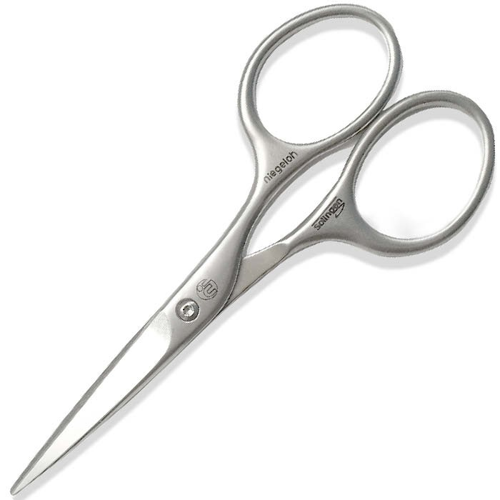 Niegeloh Solingen Beard & Moustache Scissors Stainless Steel
