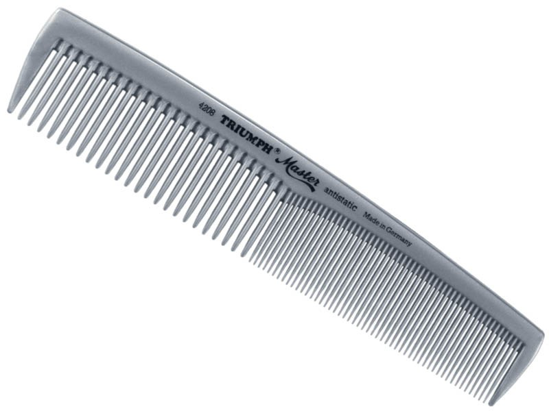 "Triumph Master Ladies Comb 7.25"" Germany 4208-95"