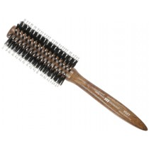 High quality round brush with natural boar bristles by Hercules Saegemann