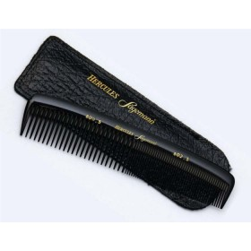 Hercules Sagemann Gents Hair Comb In Leather Pouch Seamless 5""