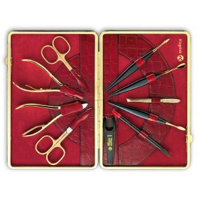 Niegeloh Solingen Womens Manicure Set 24ct Gold-Plated