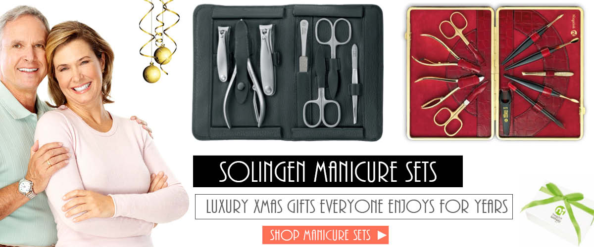 Solingen Manicure Set The Best Gifts for Xmas 2016