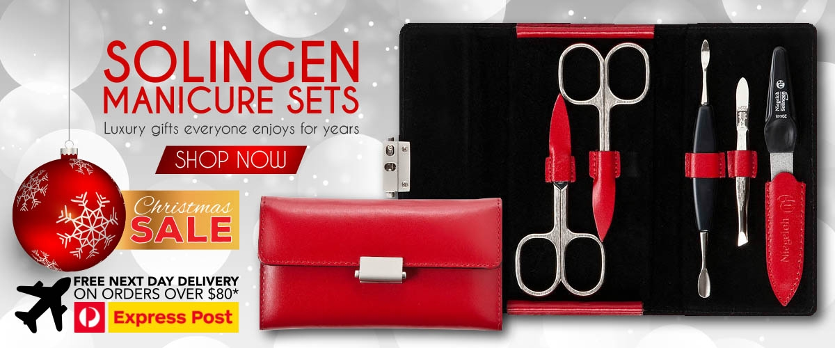 Best Xmas Gift For Women is a Solingen Manicure Scissors Set in 2017