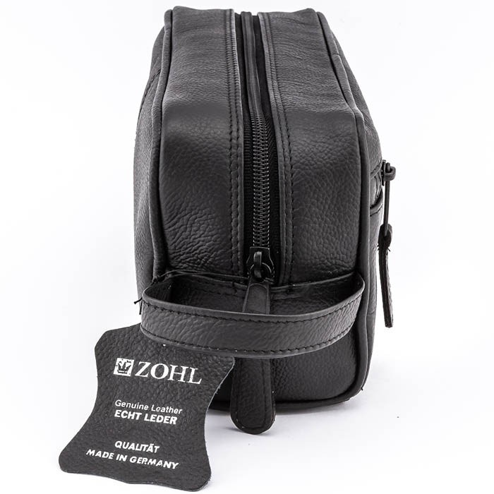 426391a395e7 More Views. ZOHL Classic Leather Travel Toiletry Bag Medium