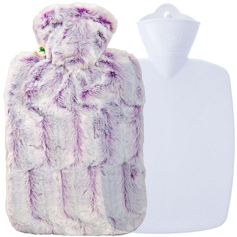 Hugo Frosch Hot Water Bottle Estravaganza Lilac Blend 1.8L