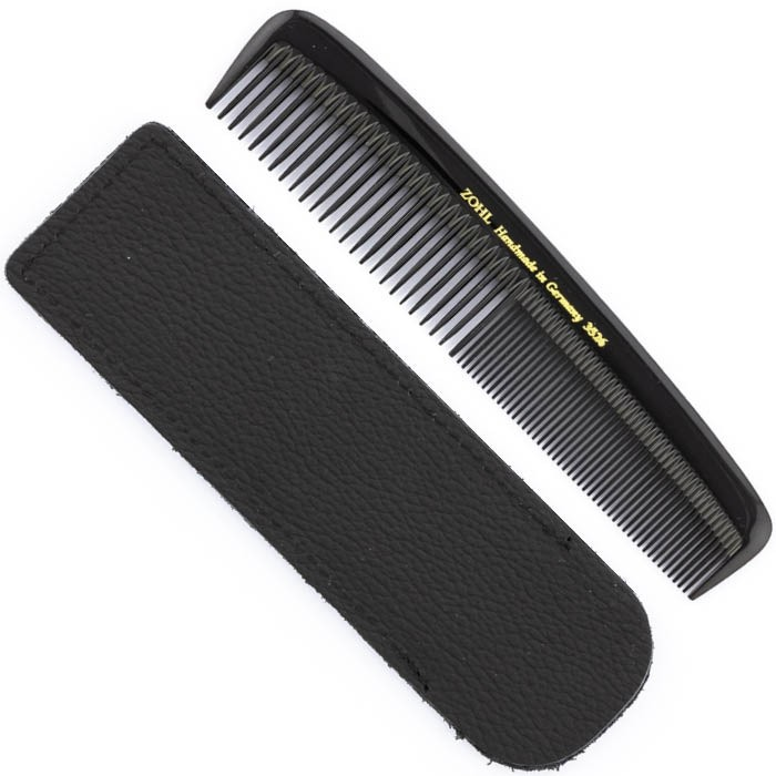 ZOHL Mens Pocket Hair Comb Natural & Seamless