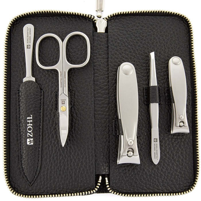 ZOHL Sharptec Pro M62 Manicure Set Luxor With 2 Nail Clippers