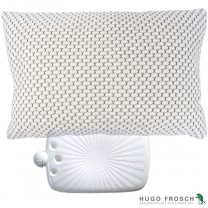 Hugo Frosch Organic Cotton Cushion With ECO Hot Water Bottle 2L Latte