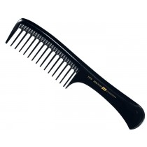 Hercules Sägemann Premium Ebonite Hair Brush Wide Teeth 1975