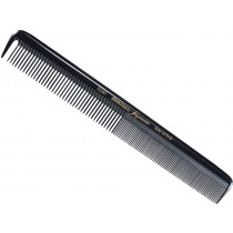 "Hercules Sagemann Ebonite Hair Cutting Comb Sectioning Tooth 8.5"" 5240"
