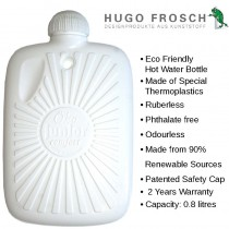 Hugo Frosch Eco Hot Water Bottle Small 0.8L