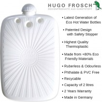 Hugo Frosch ECO Hot Water Bottle 2L