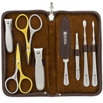 ZOHL Solingen Manicure Pedicure Set Premier With Self-Sharpening Scissors