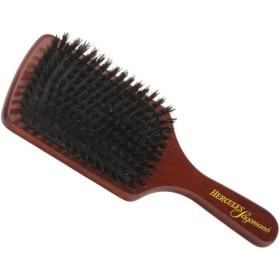 Hercules Sagemann Pure Boar Bristle Paddle Hair Brush Wood