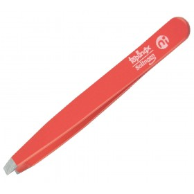 Topinox® Solingen Straight Tweezers Red