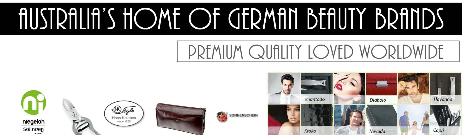 Australia's Home of German Beauty Brands