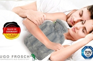 high quality hot water bottles Hugo Frosch Germany