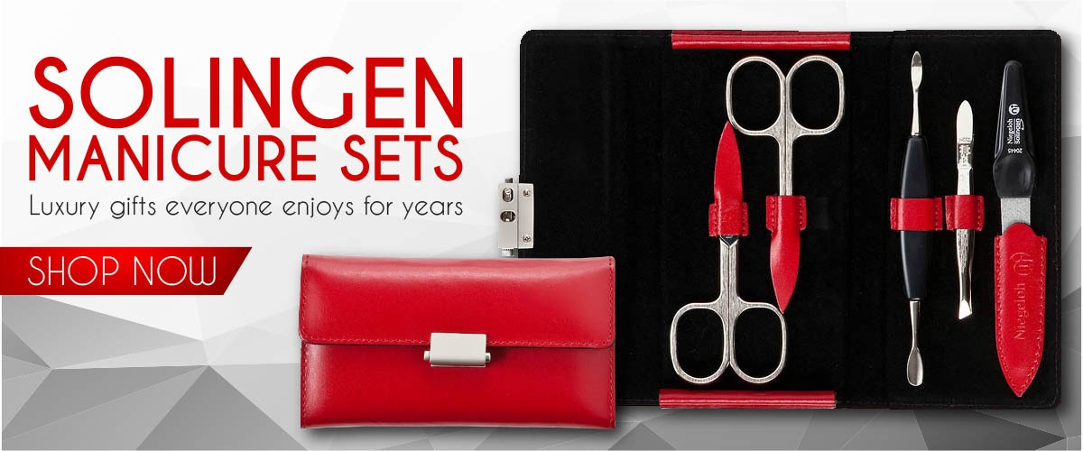 New Solingen Manicure Pedicure Set Scissors Nail Gift Kits